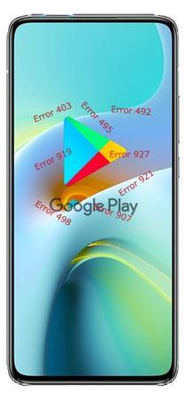 Xiaomi Redmi K30 Ultra Google Play hataları