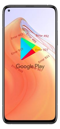 Xiaomi Redmi K30S Google Play hataları