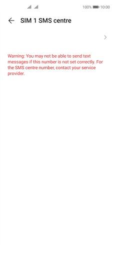 Huawei P40 lite 5G Telefonunuzu Metin Mesajlaşması İçin Ayarlama