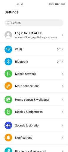 Huawei P40 lite 5G Telefonunuzu Wi-Fi Hotspot Olarak Kullanma