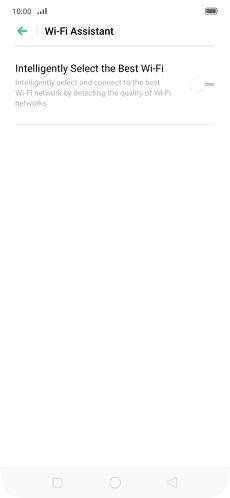 OPPO Reno 5G Mobil Verilerin Otomatik Kullanımını Açma veya Kapatma